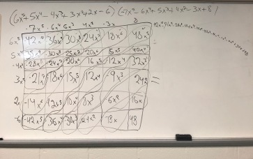 Multiplying Polynomials Practice2
